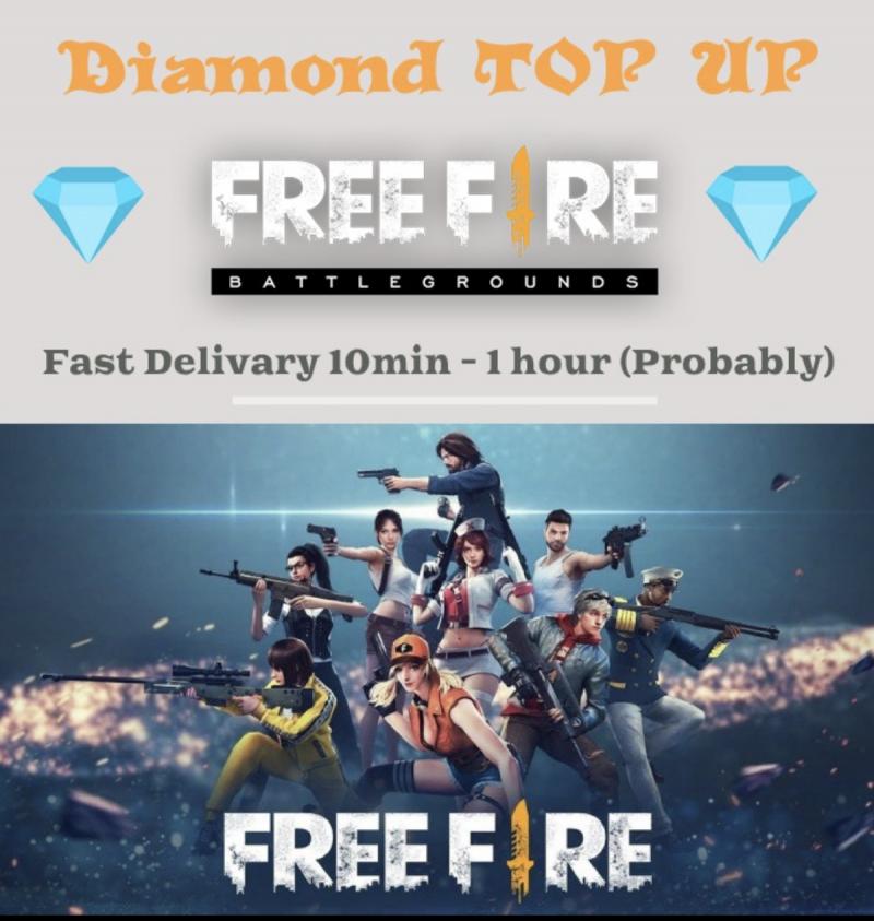 Free Fire Diamond Top Up with BKash Rocket Nagad 2021